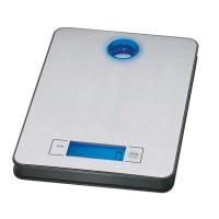 Cantar inox pentru bucatarie Zilan ZLN0351, maxim 5 kg, afisaj digital luminat