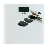 Cantar electronic Laica PS1056-B, 180 kg, ecran LCD, model floral