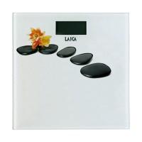 Cantar electronic Laica PS1056-C, 180 kg, ecran LCD, model floral