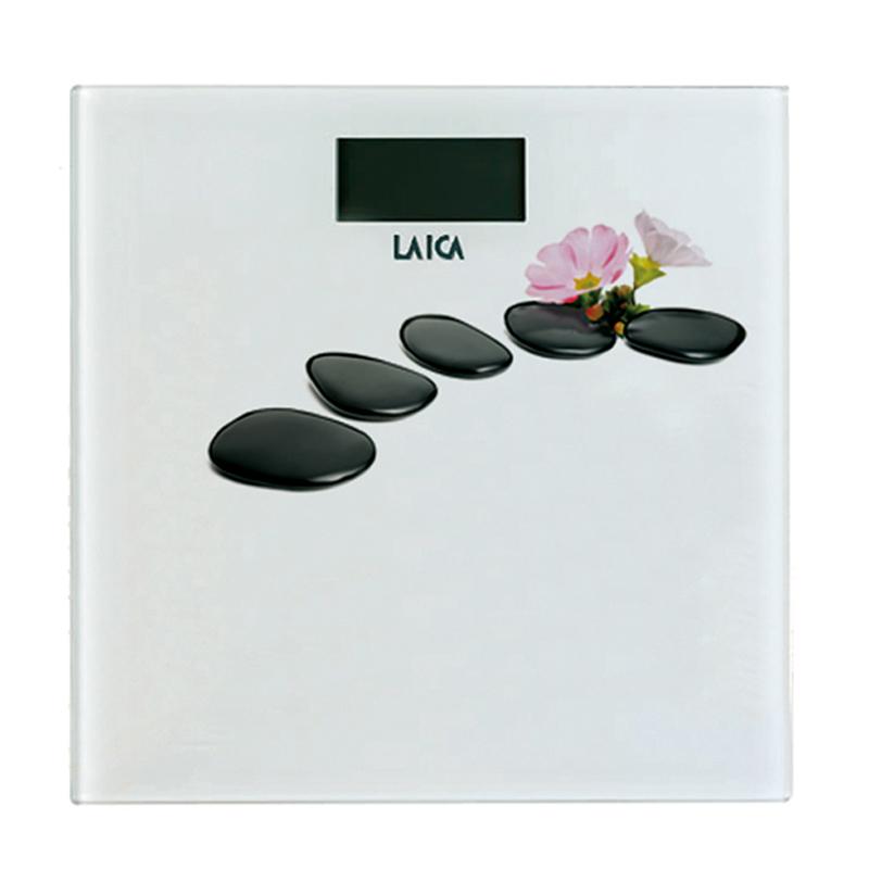 Cantar electronic Laica PS1056-D, 180 kg, ecran LCD, model floral 2021 shopu.ro
