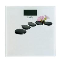 Cantar electronic Laica PS1056-D, 180 kg, ecran LCD, model floral