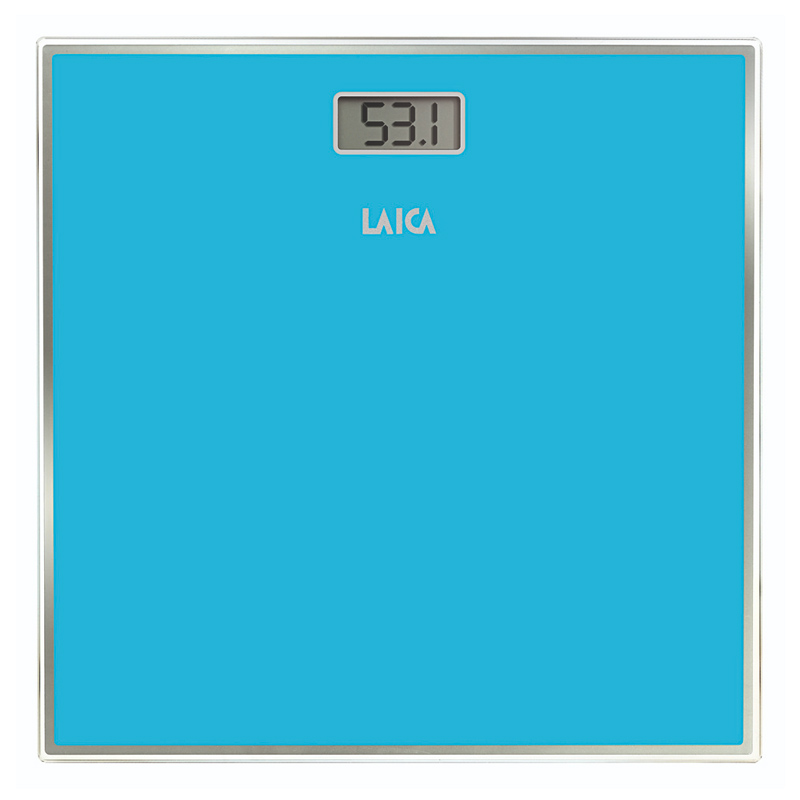 Cantar electronic Laica PS1068, 150 kg, ecran LCD, Albastru 2021 shopu.ro