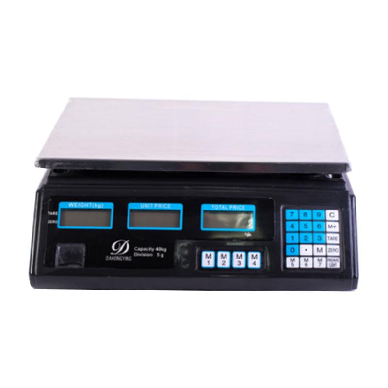 Cantar electronic Micul Fermier, 40 kg, afisaj pe ambele parti, acumulator incorporat, functia TARE shopu.ro
