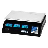 Cantar electronic cu afisaj dublu, capacitate 40 kg, functie TARA, ecran luminat, acumulator