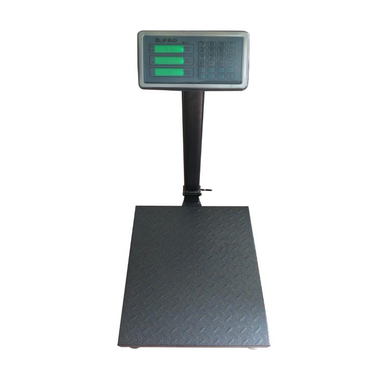Cantar electronic cu platforma G PRO, 350 kg, brat pliabil shopu.ro