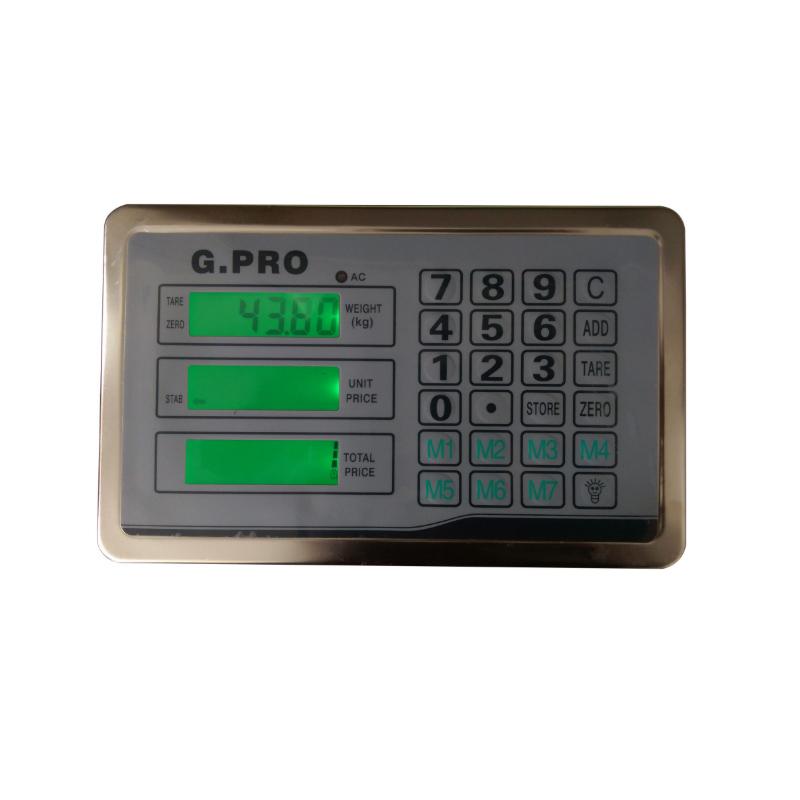 Cantar electronic cu platforma G PRO, 350 kg, brat pliabil