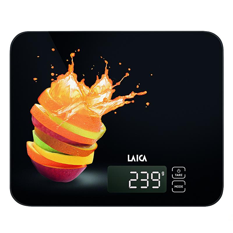 Cantar electronic de bucatarie Laica KS5015, 15 kg, Negru 2021 shopu.ro