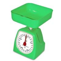 Cantar de bucatarie mecanic Dekassa, 5 kg, verde