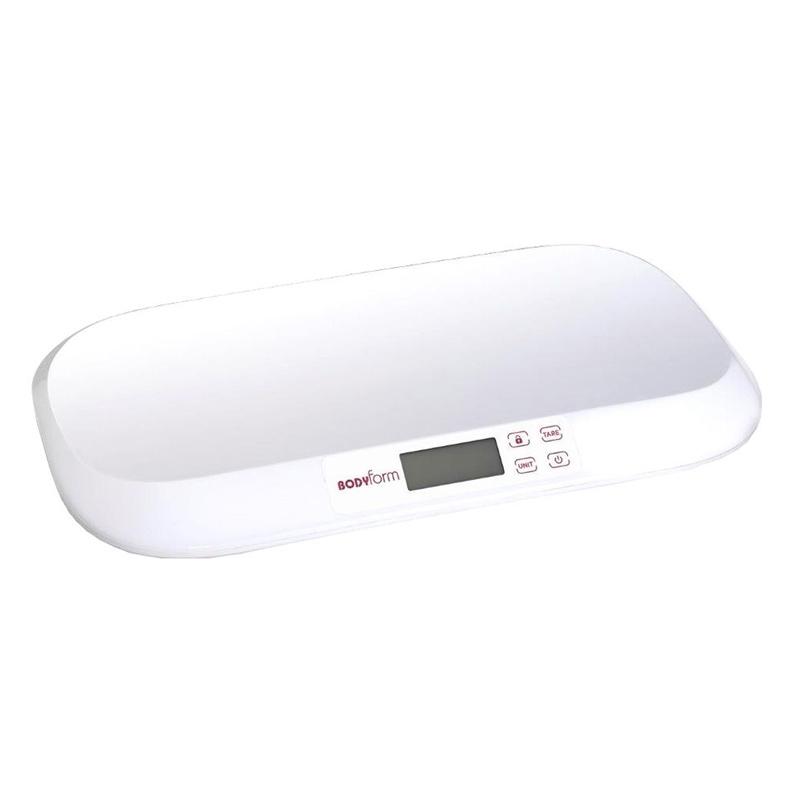 Cantar pentru bebelusi Laica Bodyform PS3007, 20 kg, ecran LCD, Alb 2021 shopu.ro
