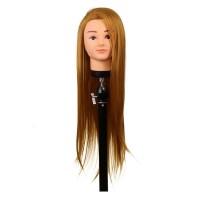 Cap practica H1-3D, 60 cm, blond auriu, suport inclus