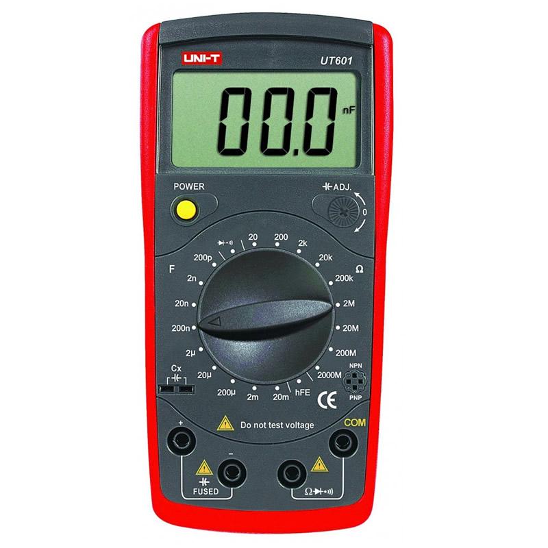 Capacimetru digital UT601 UNI-T, memorarea datelor 2021 shopu.ro