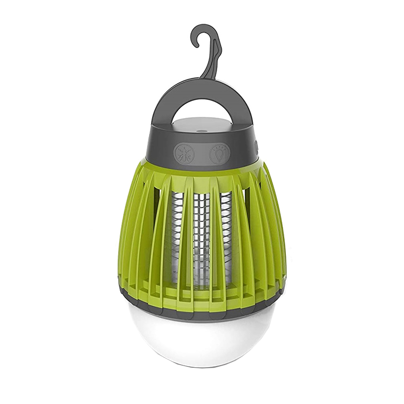 Capcana portabila impotriva tantarilor 2 in 1 Chicco, 2 butoane, lumina violet, USB, tip felinar 2021 shopu.ro