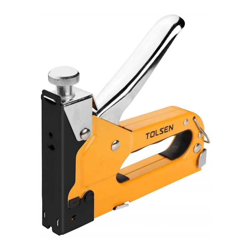 Capsator industrial Tolsen, 4-14 mm, 3 directii, 500 capse 2021 shopu.ro
