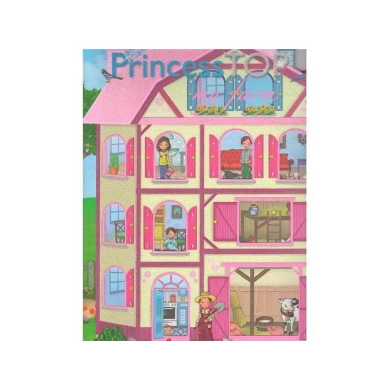 Carte Princess TOP My farm, 24 pagini cu cate 6 abtibilduri fiecare imagine