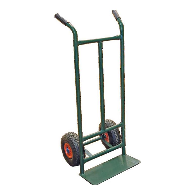 Carucior pentru transport, maxim 150 kg, Verde shopu.ro