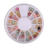Carusel decor pentru unghii JNR04, model perla
