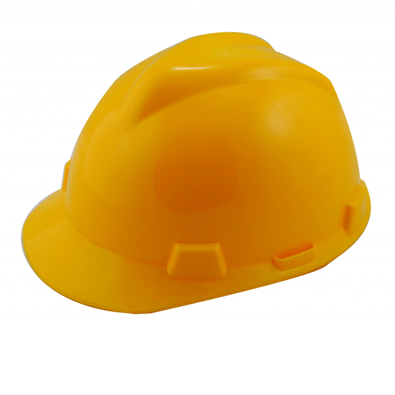 Casca protectie Top Strong, PVC, fixare 4 puncte, Galben 2021 shopu.ro