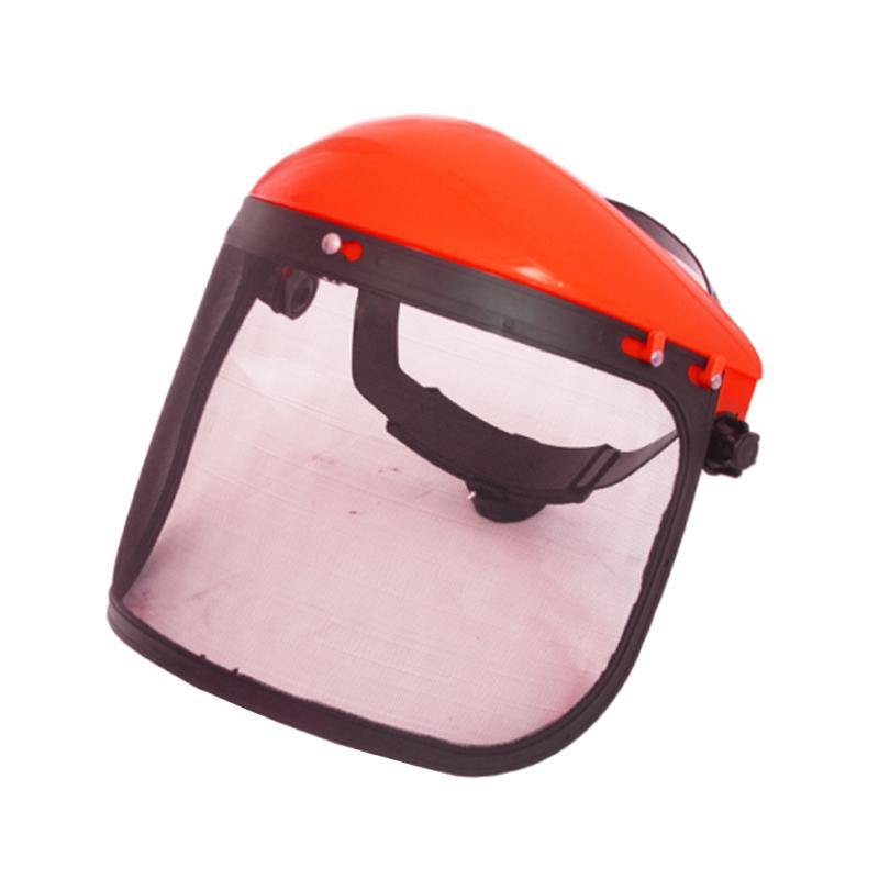 Casca protectie cu viziera MTC Craft, viziera plasa, Rosu 2021 shopu.ro