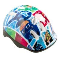Casca de protectie pentru copii Pjmasks, 52-56 cm, Multicolor
