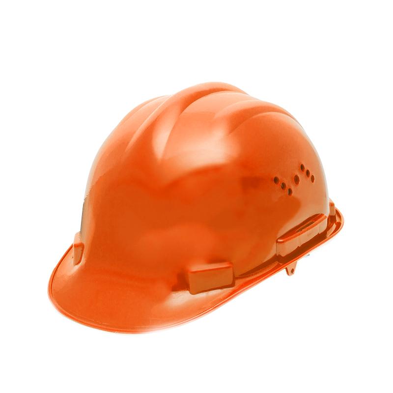 Casca de protectie Handy, marime unica, 52-62 cm, polietilena, Portocaliu 2021 shopu.ro
