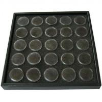 Caseta expunere ornamente unghii, 25 cutiute