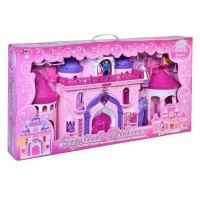 Castel Crystal Palace, print si printesa, multicolor