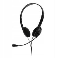 Casti cu microfon Quer, sensibilitate 101 dB, jack 3.5 mm