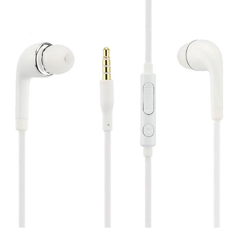 Casti cu microfon pentru Samsung, jack 3.5 mm, fir 1.2 m