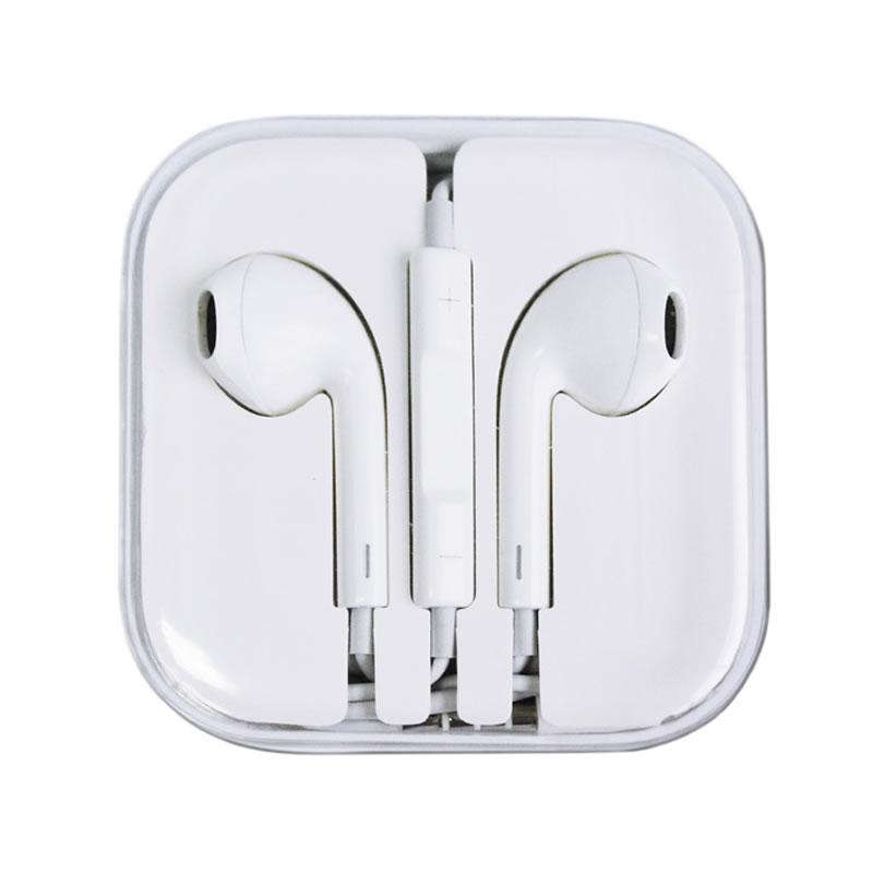 Casti pentru iPhone, jack 3.5 mm, volum si microfon pe fir 2021 shopu.ro