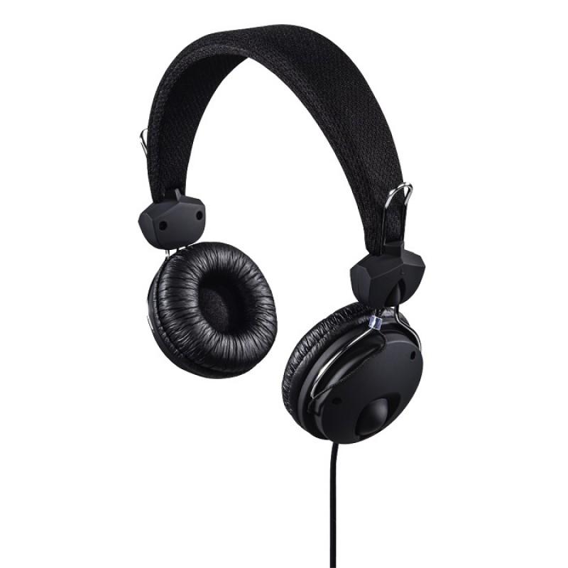 Casti stereo Fun4Phone Hama, textil, over the ear, 1.2 m, Negru 2021 shopu.ro