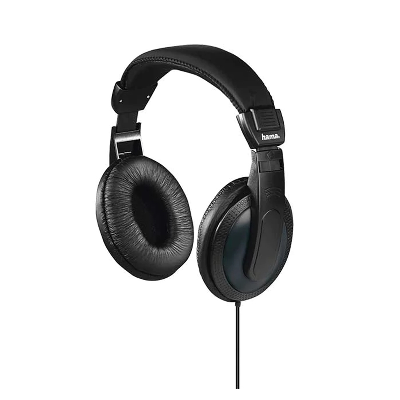 Casti Basic4Tv Hama, over ear, unilateral, cablu lung, 6 m, Negru 2021 shopu.ro