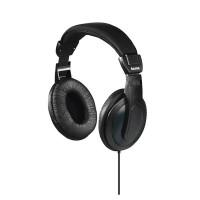 Casti Basic4Tv Hama, over ear, unilateral, cablu lung, 6 m, Negru