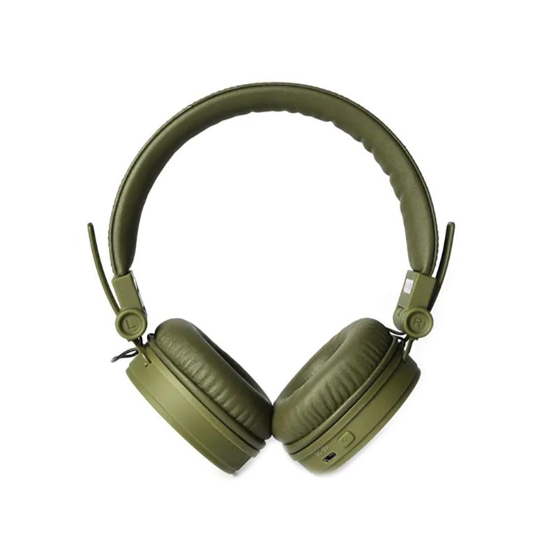 Casti Caps Fresh&Rebel, bluetooth 4.0, 10 m, microfon incorporat, Verde 2021 shopu.ro