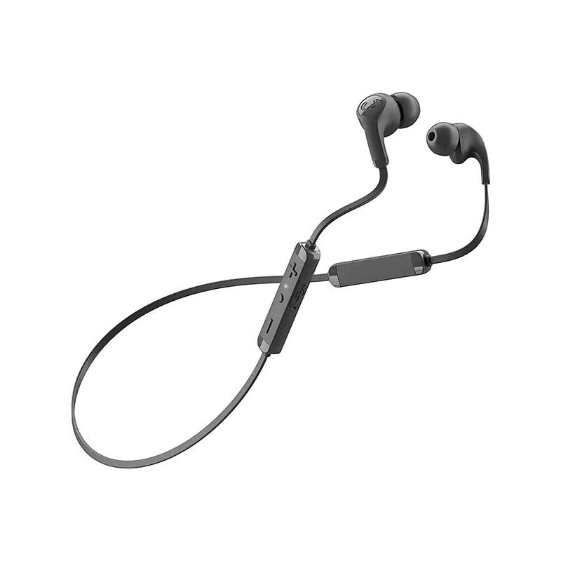 Casti Flow Tip Fresh&Rebel, wireless, bluetooth, 10 m, microfon incorporat, Negru