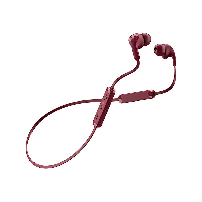 Casti Flow Tip Fresh&Rebel, wireless, bluetooth, 10 m, microfon incorporat, Rosu 2021 shopu.ro