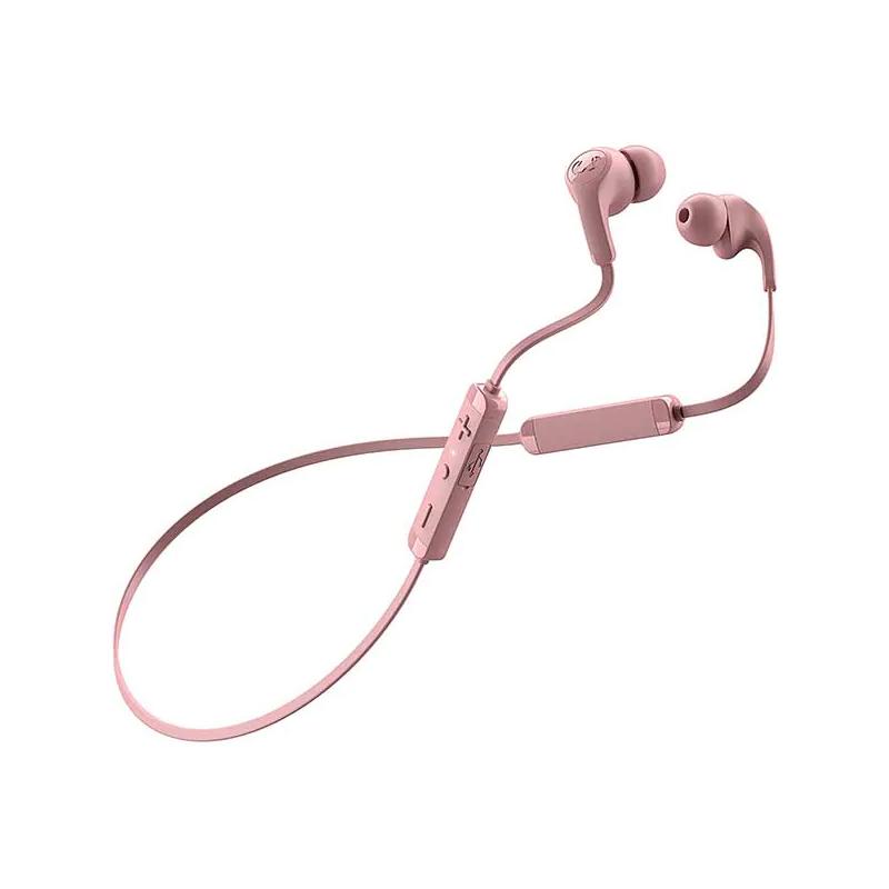 Casti Flow Tip Fresh&Rebel, wireless, bluetooth, 10 m, microfon incorporat, Roz 2021 shopu.ro