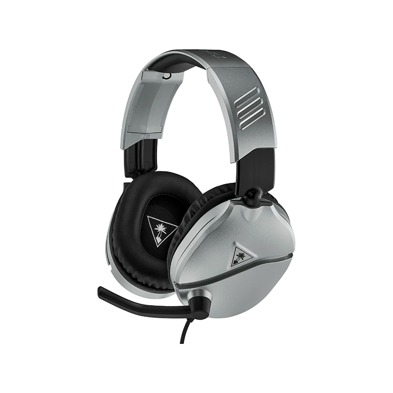 Casti Gaming Recon 70 Turtle Beach, jack 3.5 mm, microfon incorporat, Gri/Negru 2021 shopu.ro