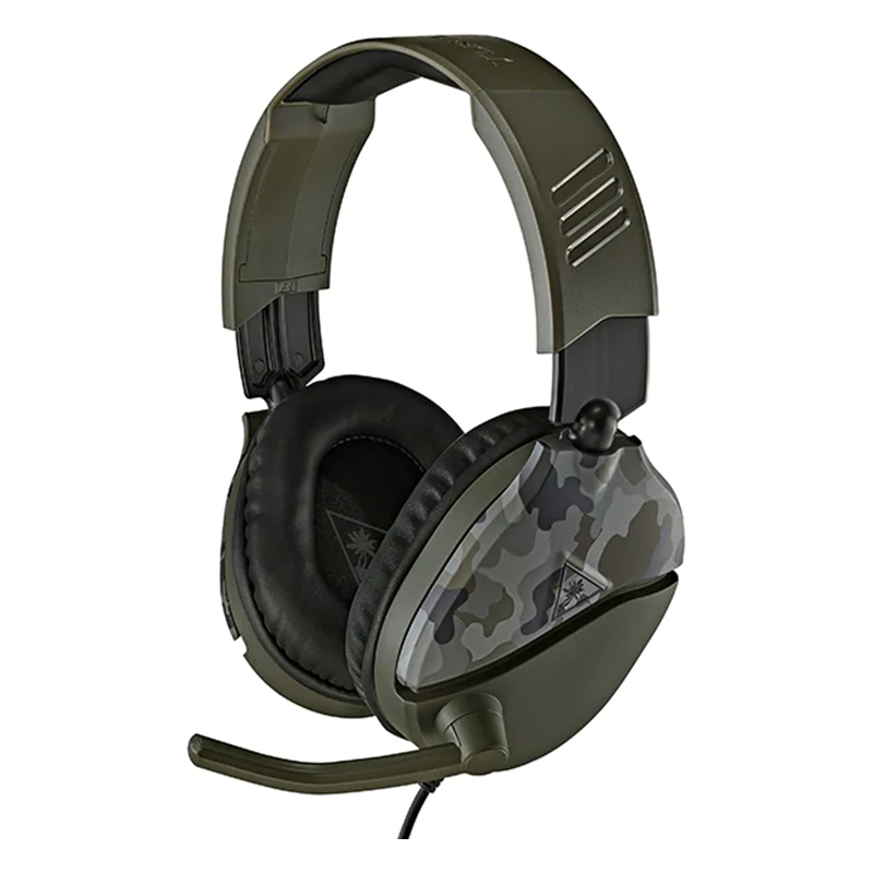 Casti Gaming Recon 70 Turtle Beach, jack 3.5 mm, microfon incorporat, Verde 2021 shopu.ro