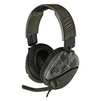 Casti Gaming Recon 70 Turtle Beach, jack 3.5 mm, microfon incorporat, Verde