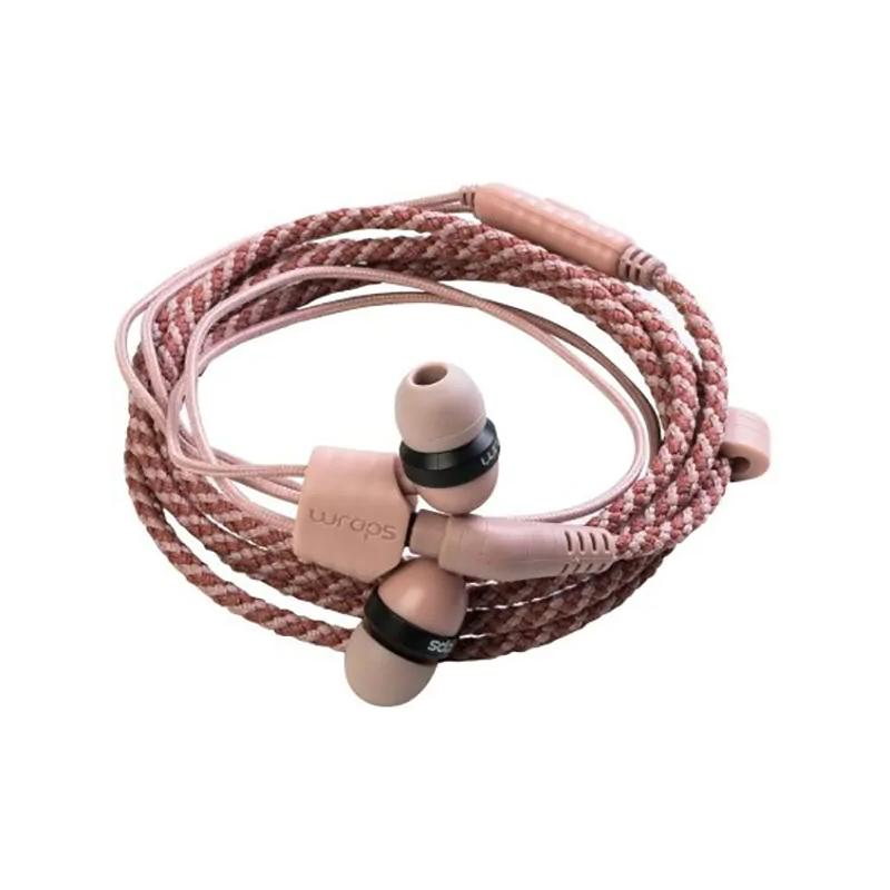 Casti Limited Edition Wraps, cu fir, jack 3.5 mm, microfon, Roz 2021 shopu.ro