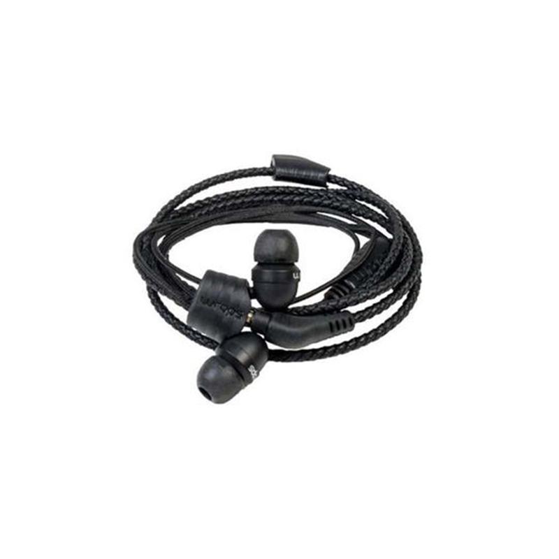 Casti Natural Wraps, cu fir, jack 3.5 mm, cablu impletit, microfon, Negru 2021 shopu.ro