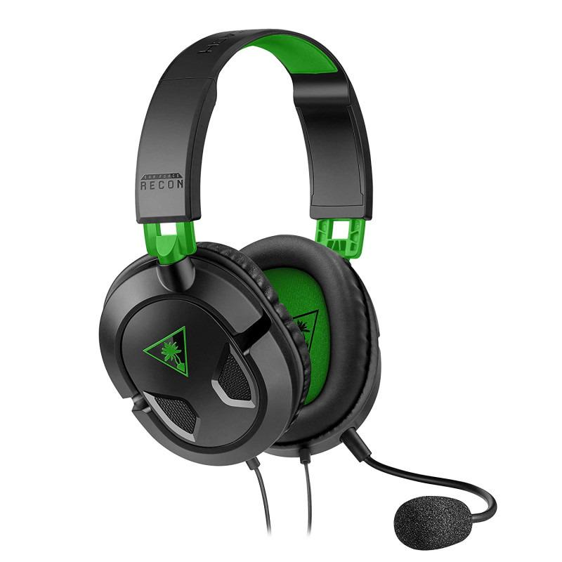 Casti Recon 50X Turtle Beach, jack 3.5 mm, microfon incorporat, Verde/Negru 2021 shopu.ro