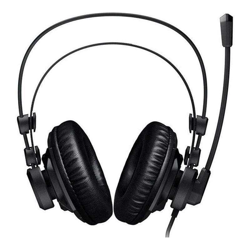 Casti Renga Boost Gaming Roccat, jack 3.5 mm, microfon incorporat, Negru 2021 shopu.ro