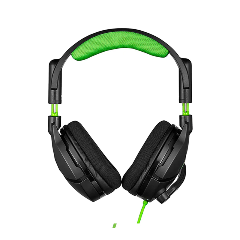 Casti Stealth 300X Turtle Beach, jack 3.5 mm, 900mAh, microfon omnidirectional, Negru/Verde 2021 shopu.ro