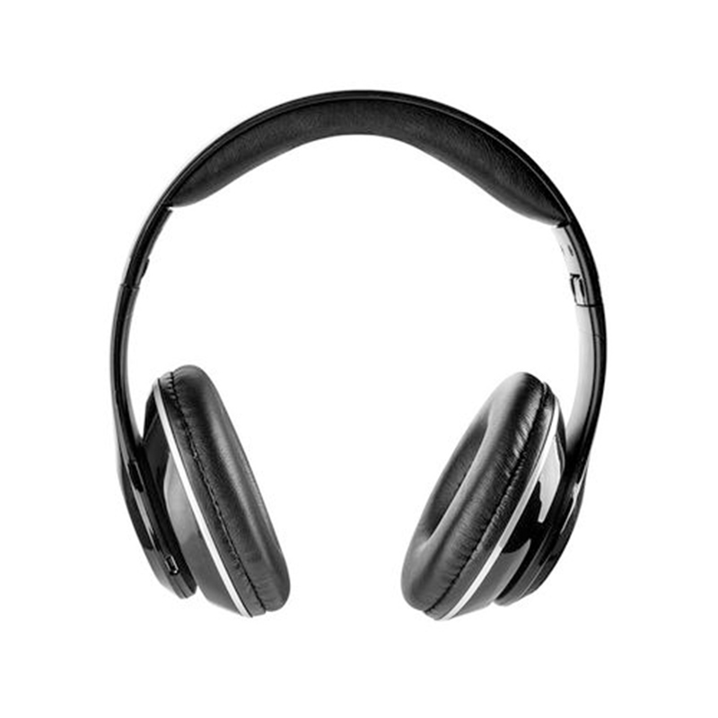 Casti audio GoGen, 30 mW, 500 mAh, Bluetooth 3.0, radioFM, microfon incorporat, Negru/Rosu 2021 shopu.ro