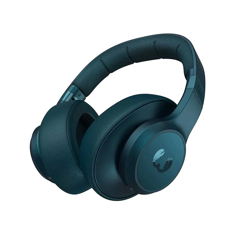 Casti pliabile Clam Fresh&Rebel, wireless, bluetooth, 10 m, microfon incorporat, Albastru 2021 shopu.ro