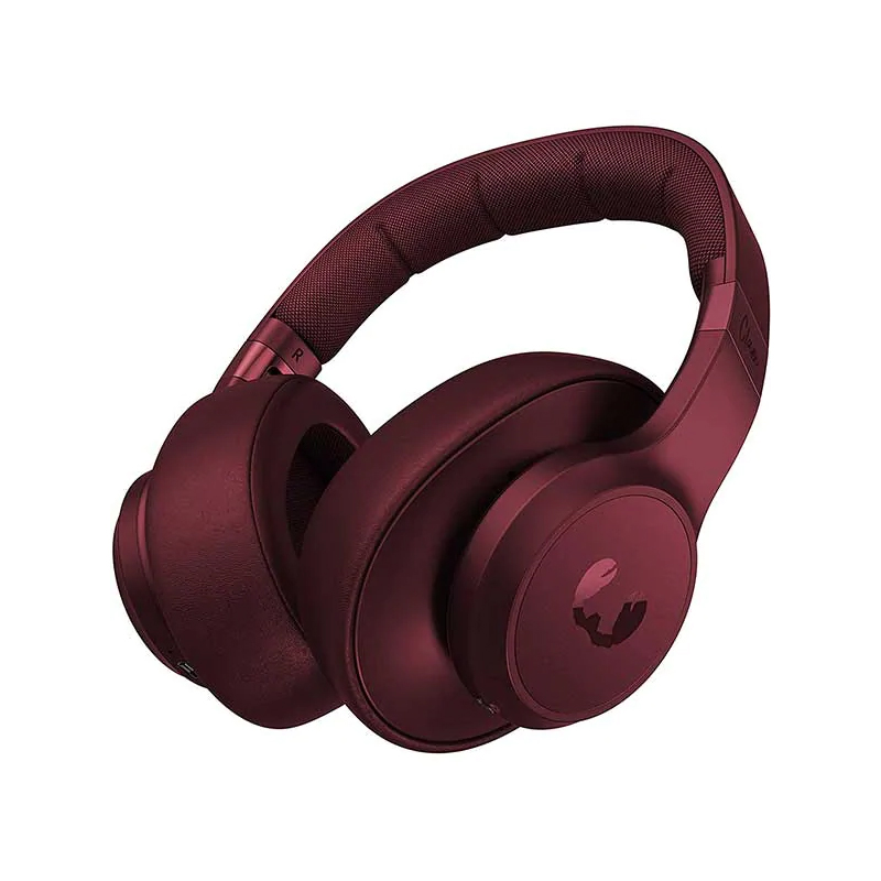 Casti pliabile Clam Fresh&Rebel, wireless, bluetooth, 10 m, microfon incorporat, Rosu 2021 shopu.ro