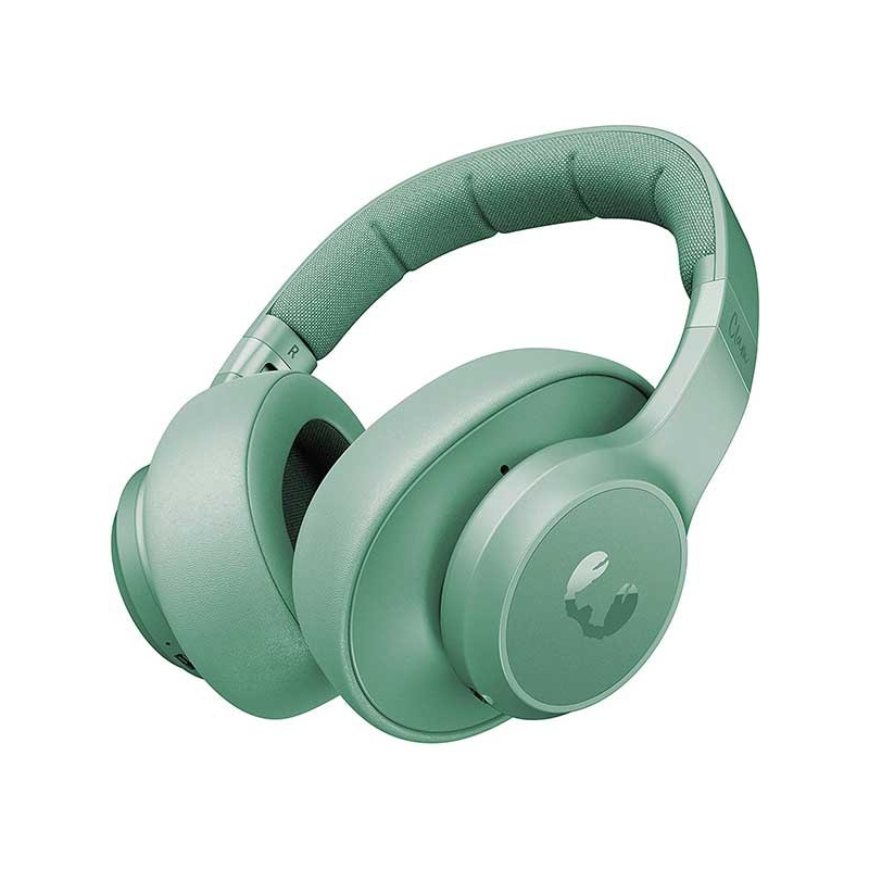 Casti pliabile Clam Fresh&Rebel, wireless, bluetooth, 10 m, microfon incorporat, Verde 2021 shopu.ro