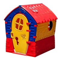 Casuta de joaca pentru copii, 110 x 95 x 90 cm, Multicolor