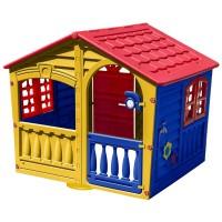 Casuta de joaca pentru copii, 140 x 109 x 115 cm, Multicolor
